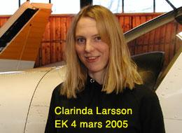 Carinda Larsson EK 4/3/2005