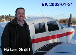 Håkan Snäll EK 31/1/2003
