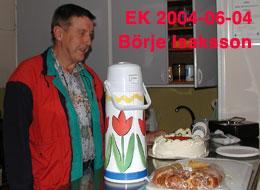 Börje Isaksson EK 4/6/2004